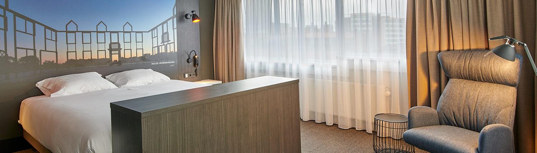 hotelkamer-Mercure-Hotel-Tilburg-Centrum